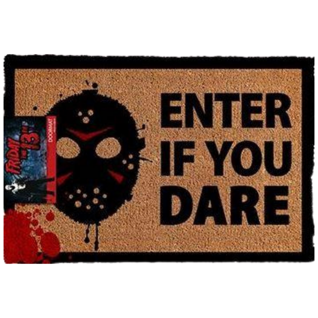Door Mat - Friday the 13th - Enter if you Dare