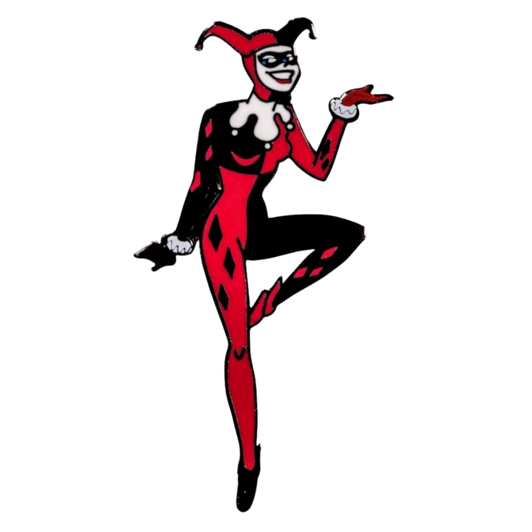 Badge - Batman: The Animated Series - Harley Quinn Enamel Pin