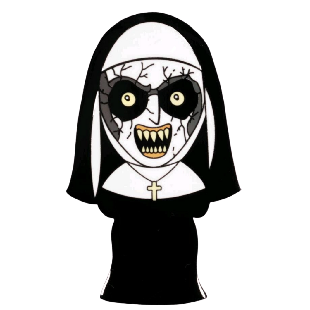 Badge - The Nun - Chibi Enamel Pin