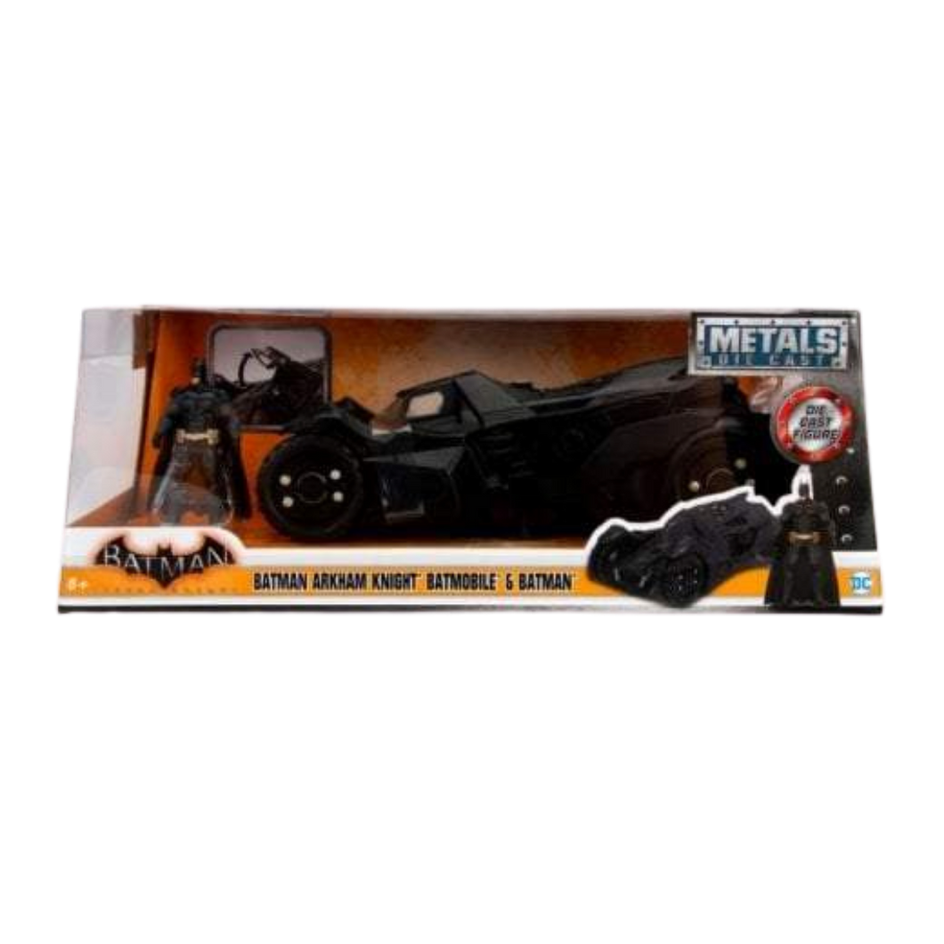 Batmobile - 2015 Diecast Arkham Knight Batmobile with Figure