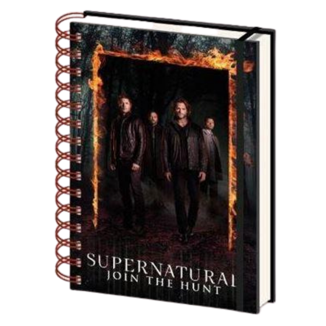 Notebook - A5 - Supernatural Burning Gates