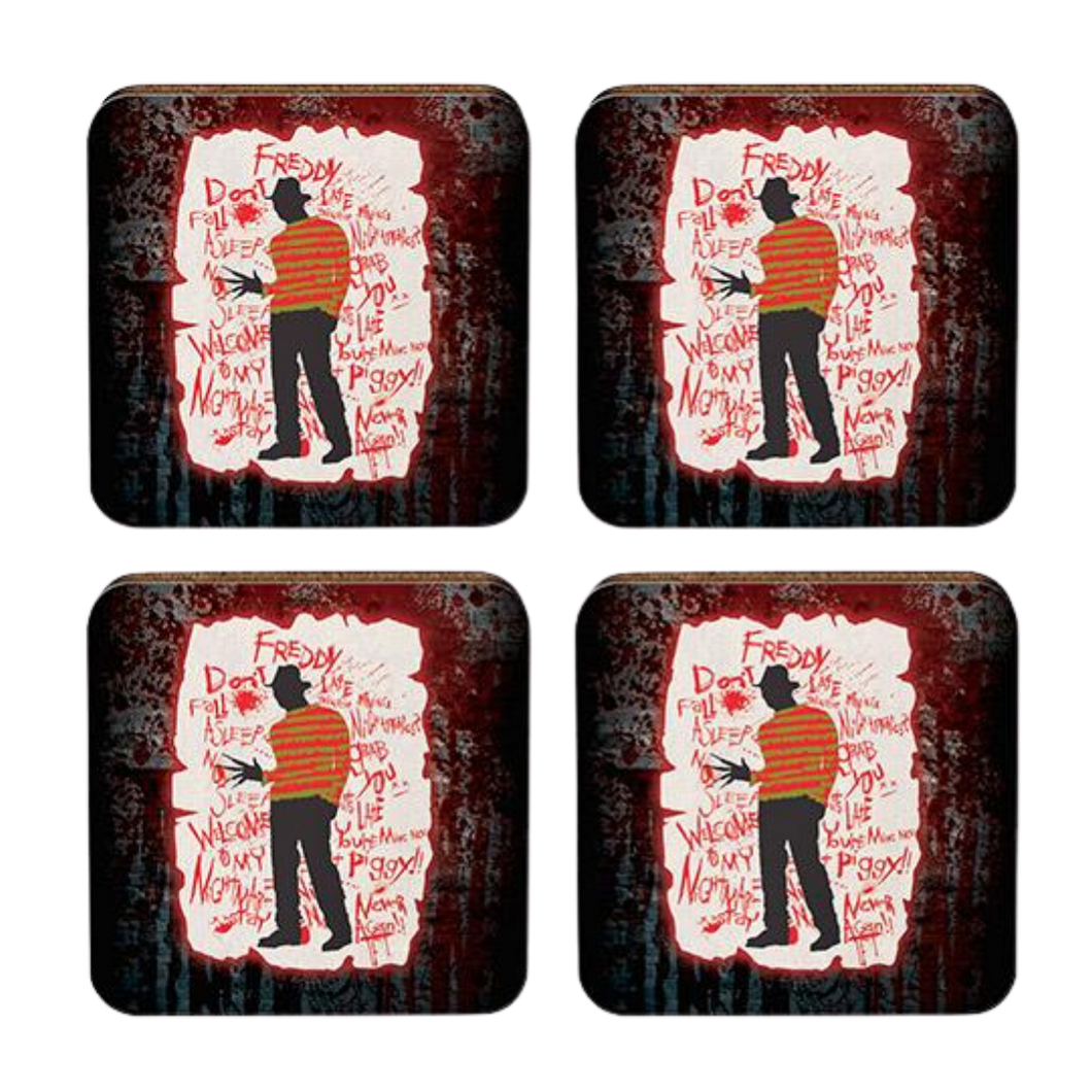 Coasters - Nightmare on Elm Street 4pk Coasters