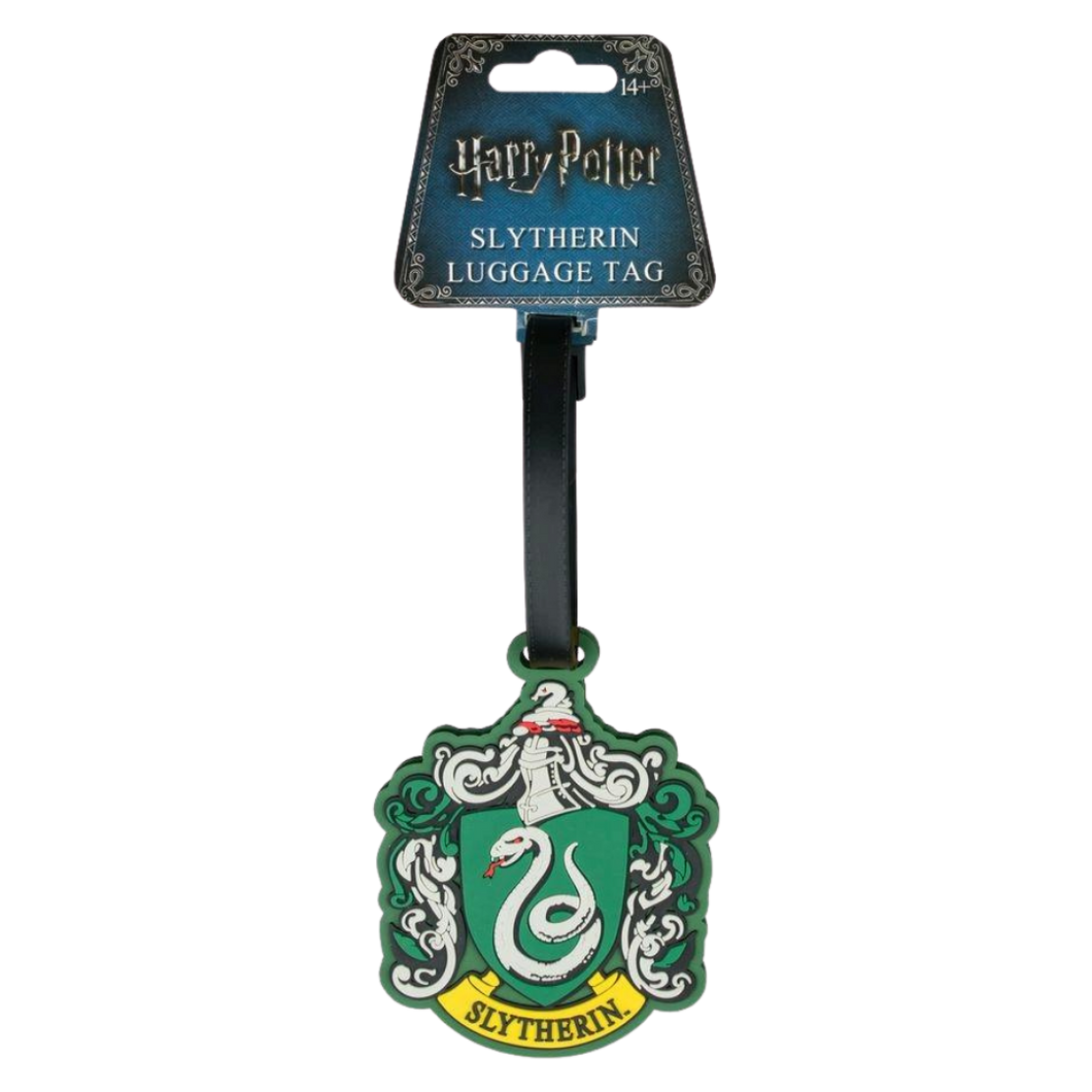 Luggage Tag - Slytherin - Harry Potter