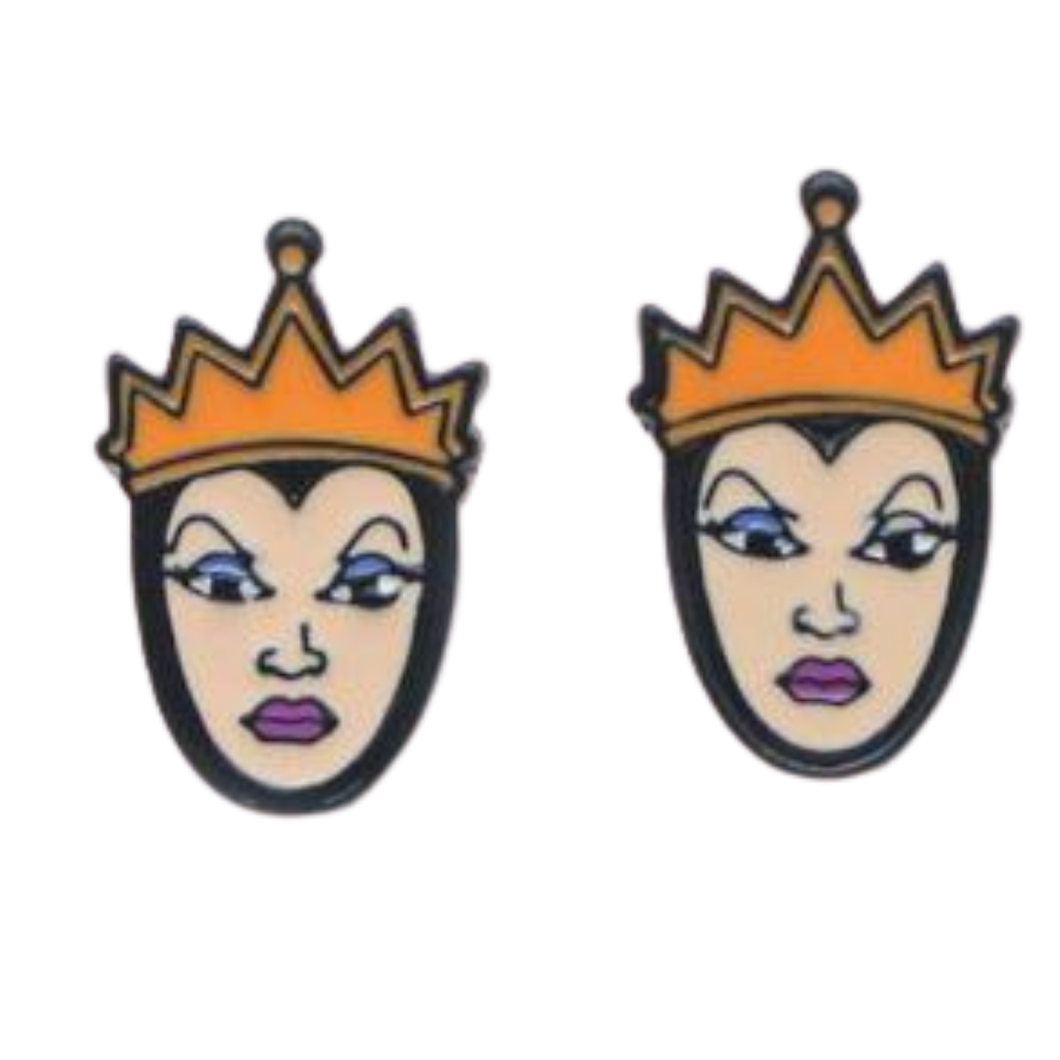 Earrings -Snow White - Evil Queen