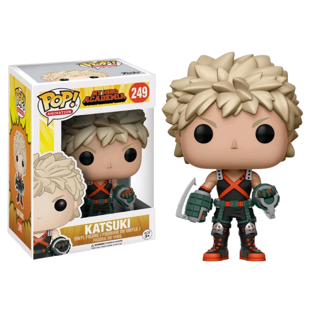 Pop Vinyl - Animation - #249 Katsuki - My Hero Academia