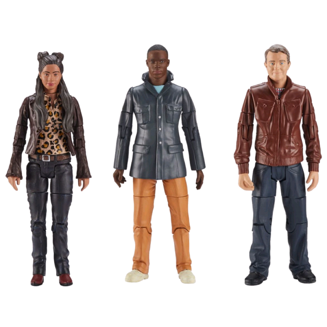 Action Figure - Doctor Who - Thirteenth Doctor Companions Action Figure 3-pack
