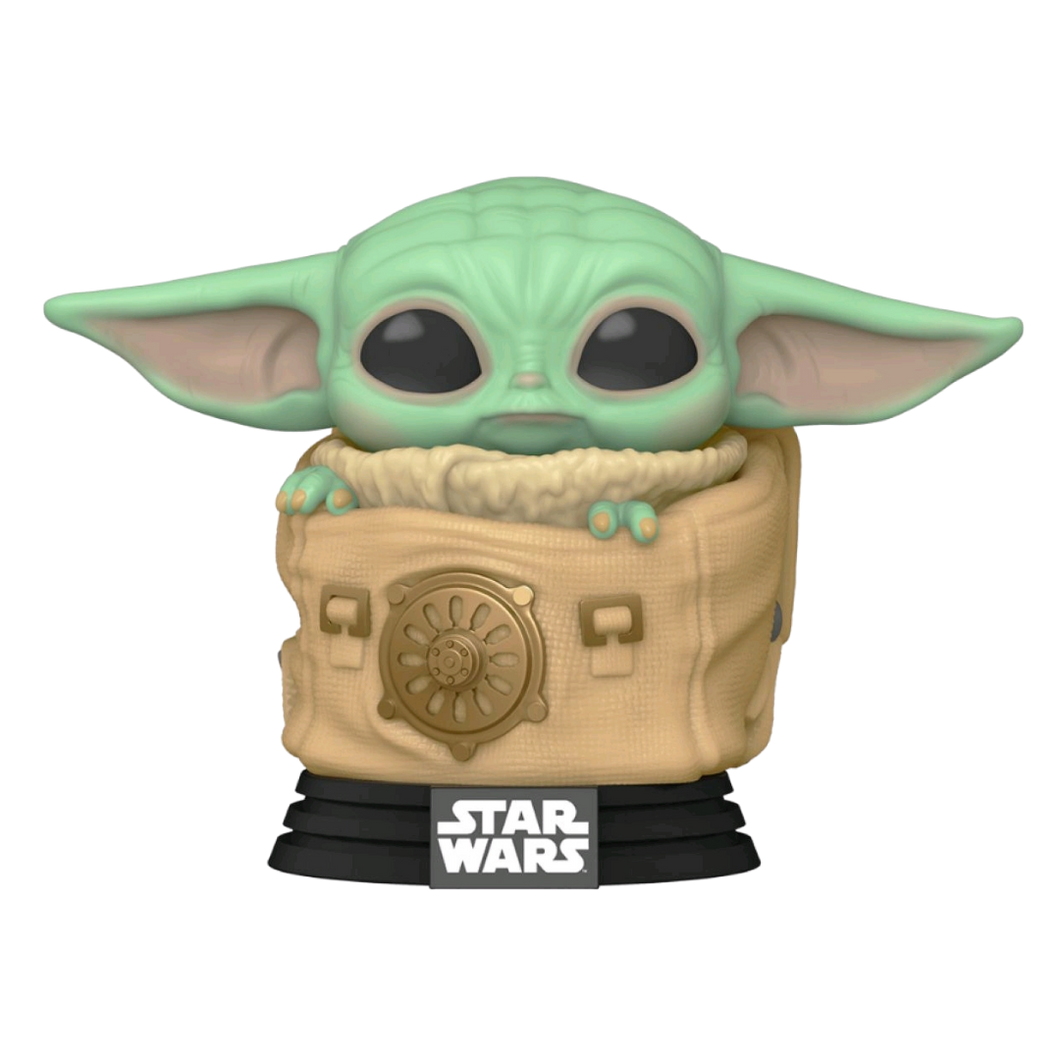 Pop! Vinyl - Star Wars: The Mandalorian - Child in Rucksack