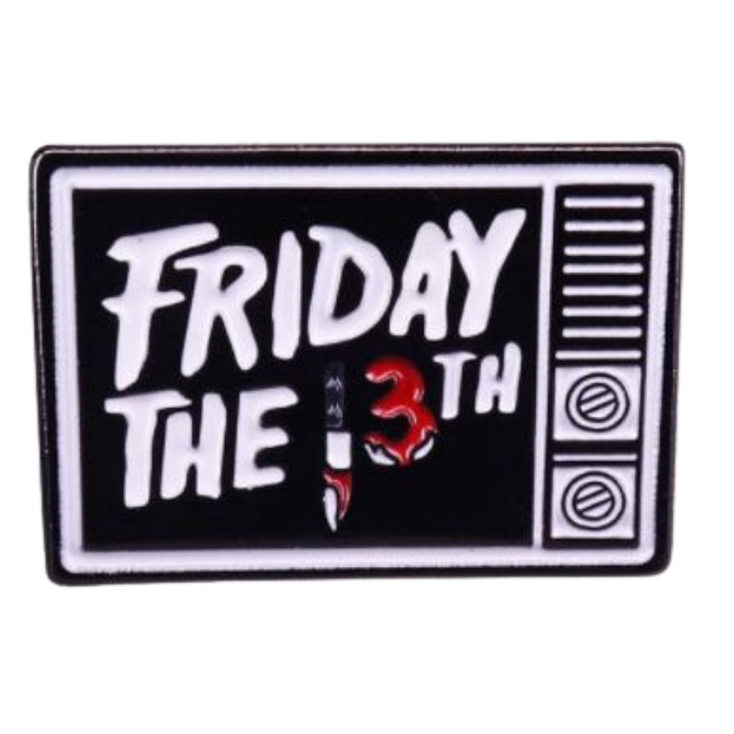 Badge - Friday The 13th