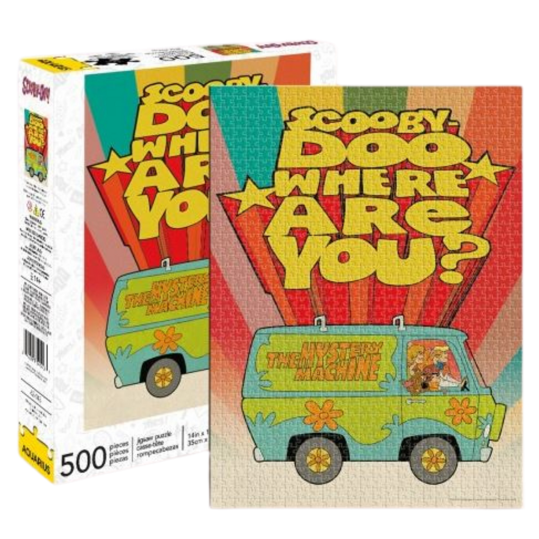 Puzzle - Scooby-Doo - Where are you? 500pc Jigsaw Puzzle