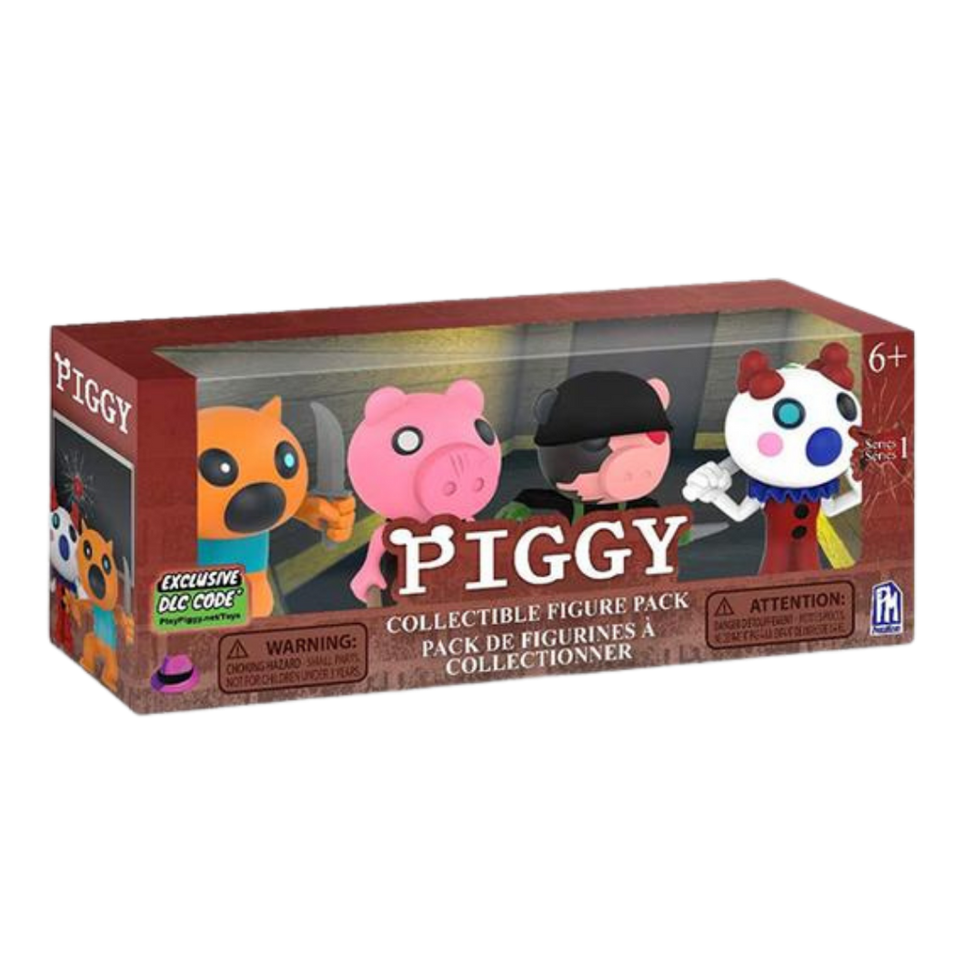 Figure - Roblox - Piggy Collectible Figure 4pk Series 1