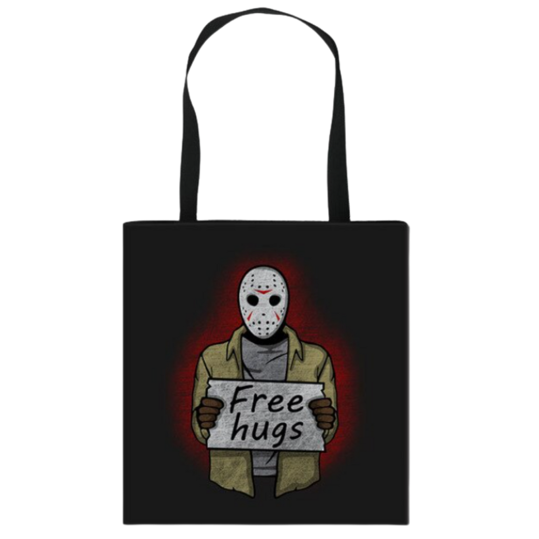 Tote Bag - Horror - Jason Vorhees (Free Hugs)