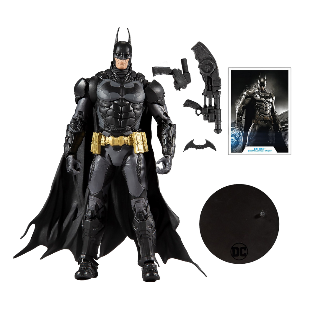 Action Figure - Batman Arkham Series w02 - Batman 7