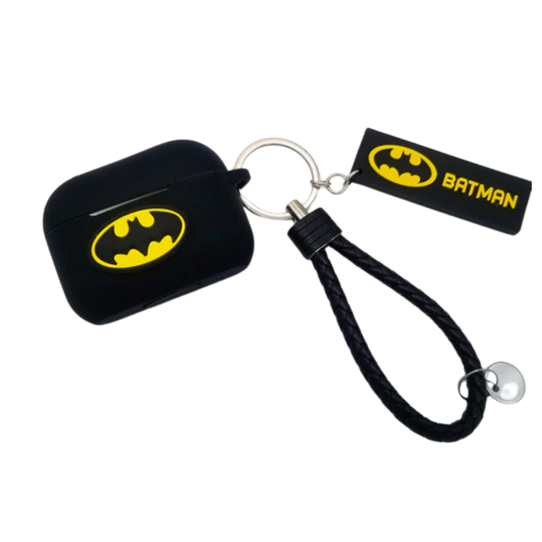 AirPod Case - Silicon - Batman with Keychain