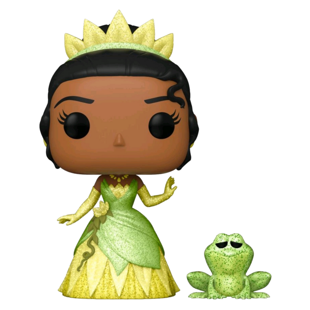 Pop! Vinyl - The Princess and the Frog - Tiana & Naveen Glitter US Exclusive
