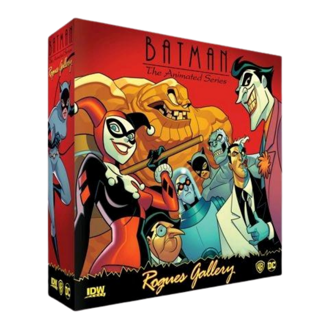 Game - Batman: The Animated Series - Rogues Gallery Board Game