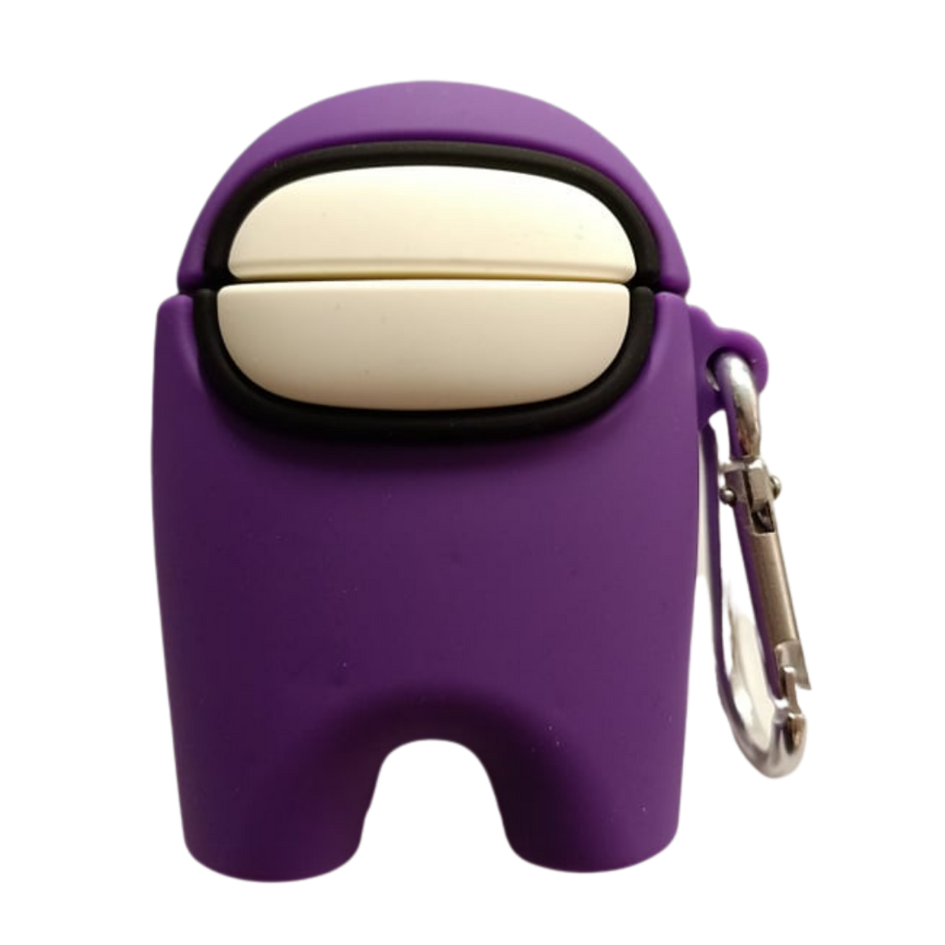 AirPod Case - Silicon - Among Us - Purple