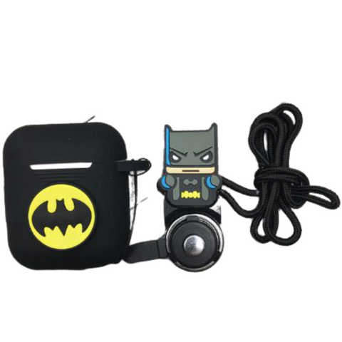 AirPod Case - Silicon - Batman with strap