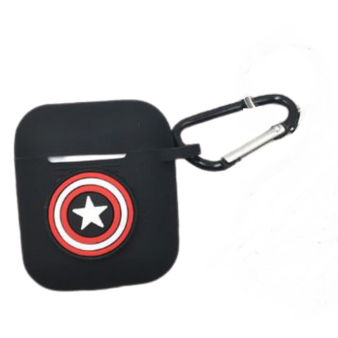 AirPod Case - Silicon - Captain America