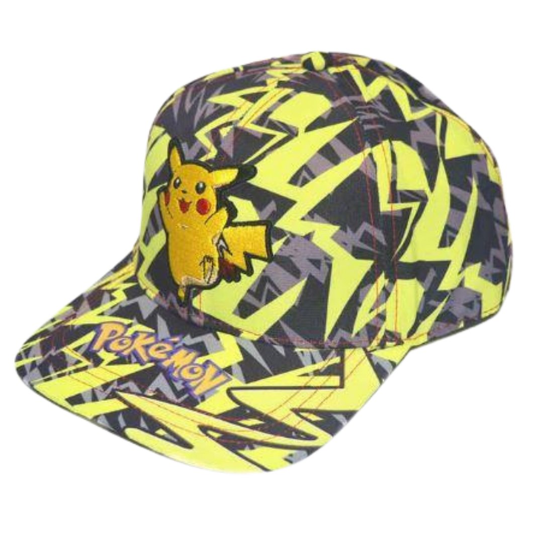 Cap - Pokemon - Pikachu Lightning Bolts