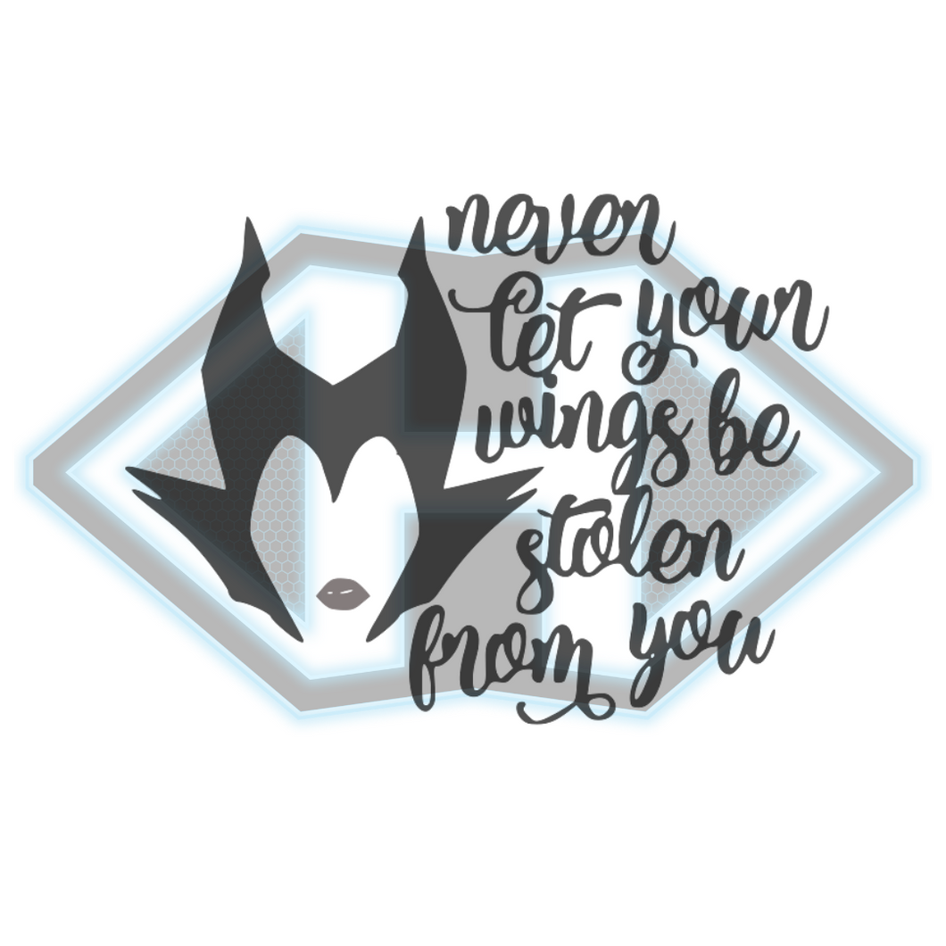 Vinyl Decal - Disney - Maleficent