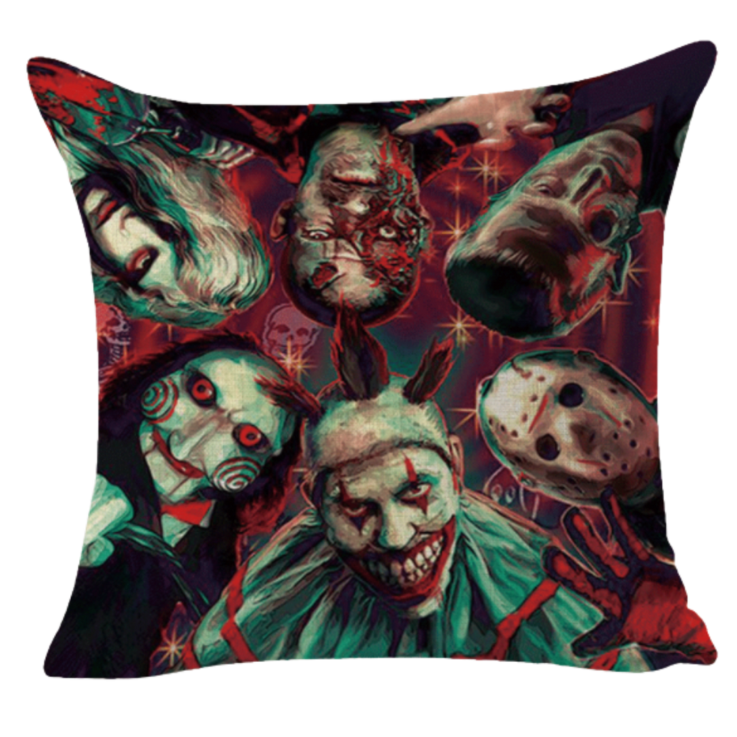 Cushion Cover - Horror Montage (2)