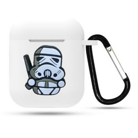 AirPod Case - Silicon - Storm Trooper - cartoon
