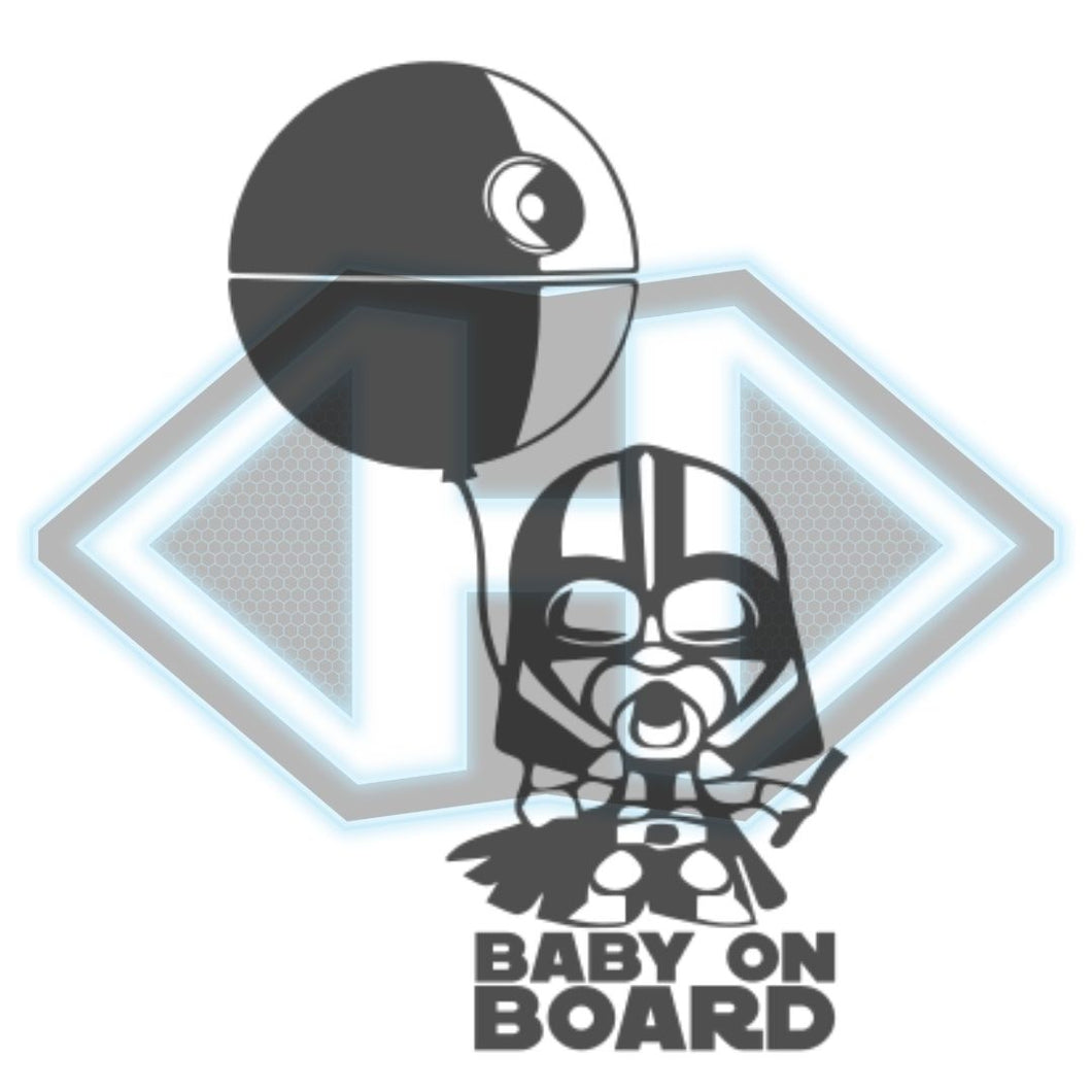 Vinyl Decal - Star Wars - Baby on Board