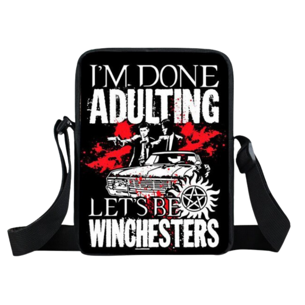 Messenger Bag - Supernatural - Done Adulting