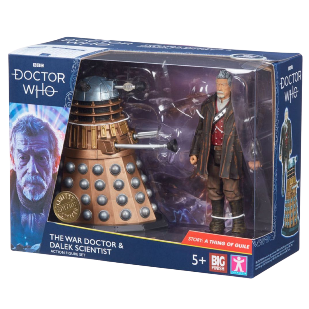 Doctor Who - Big Finish Action Figure - War Doctor and Dalek Scientist
