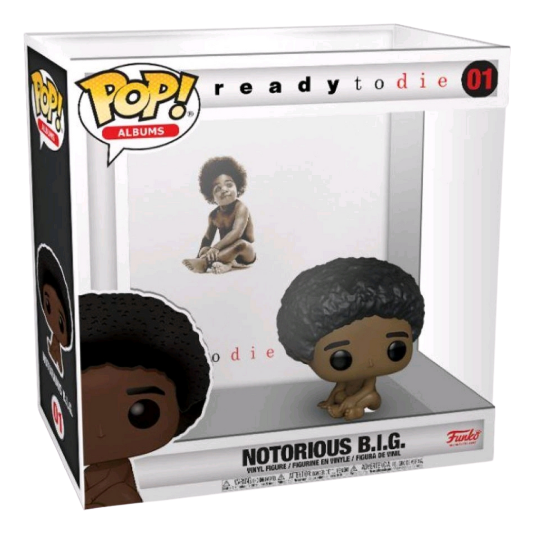 Pop! Vinyl - Rocks - Notorious B.I.G. - Ready To Die Pop! Album with Case