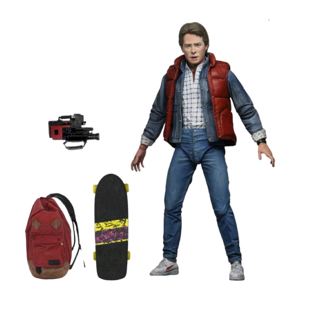 PREORDER - Action Figure - NECA - Back to the Future - Marty Ultimate 7