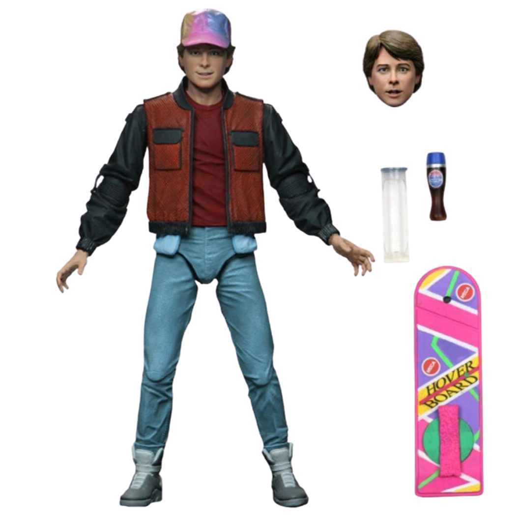 PREORDER - Action Figure - NECA - Back to the Future 2 - Marty Ultimate 7