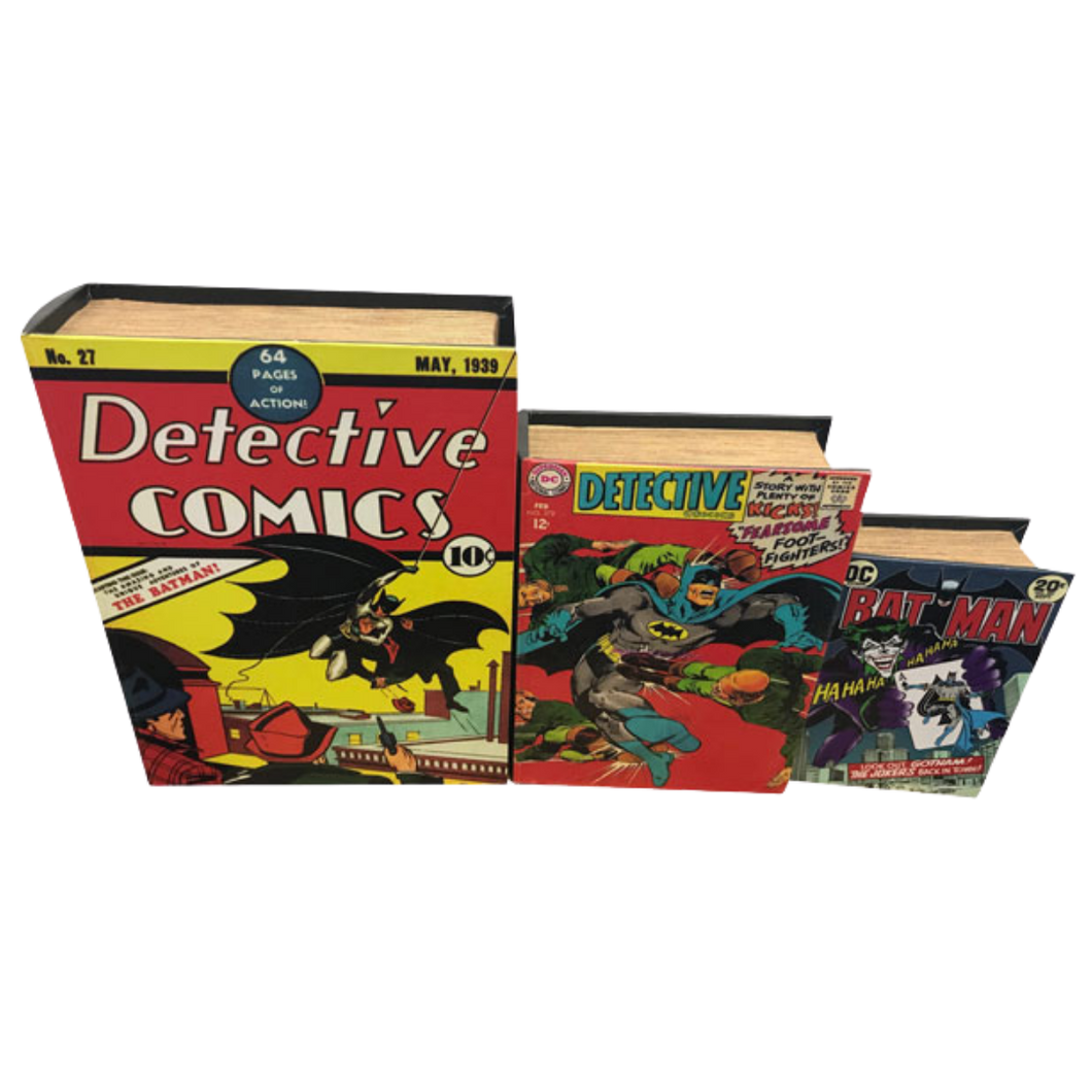 Book Storage Box - Batman Comic - 3 Sizes