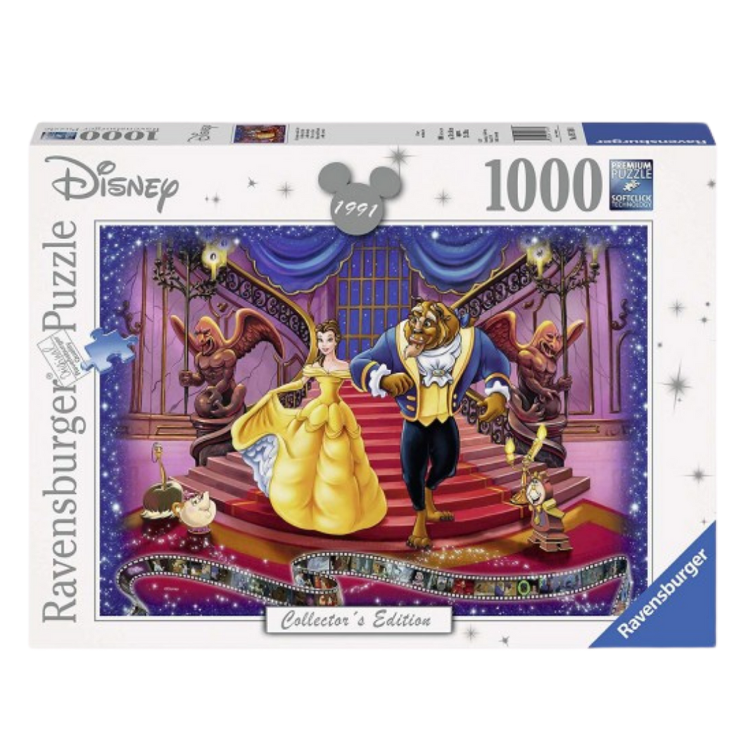 Puzzle - Ravensburger - Disney Moments Beauty and the Beast 1000pc Jigsaw Puzzle