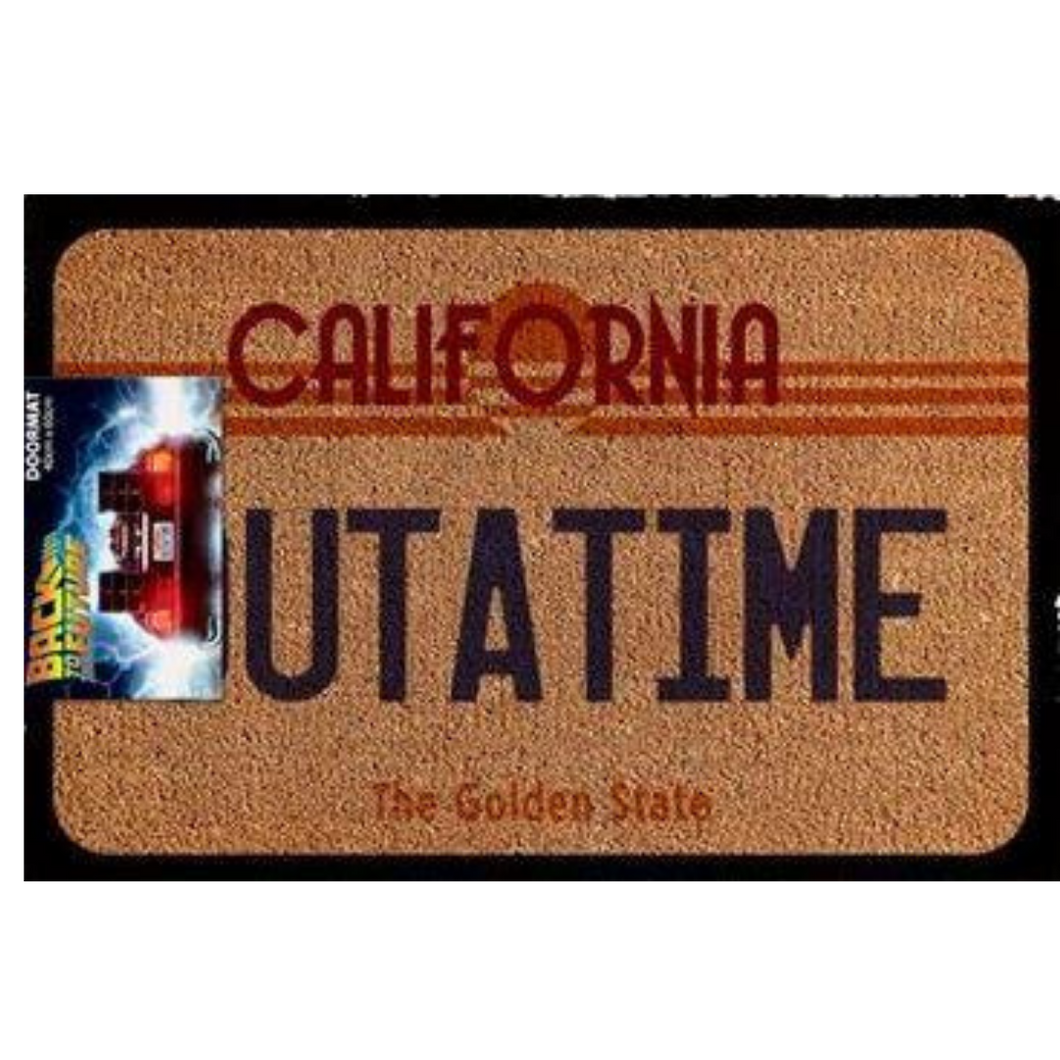 Door Mat - Back to the Future - Outatime
