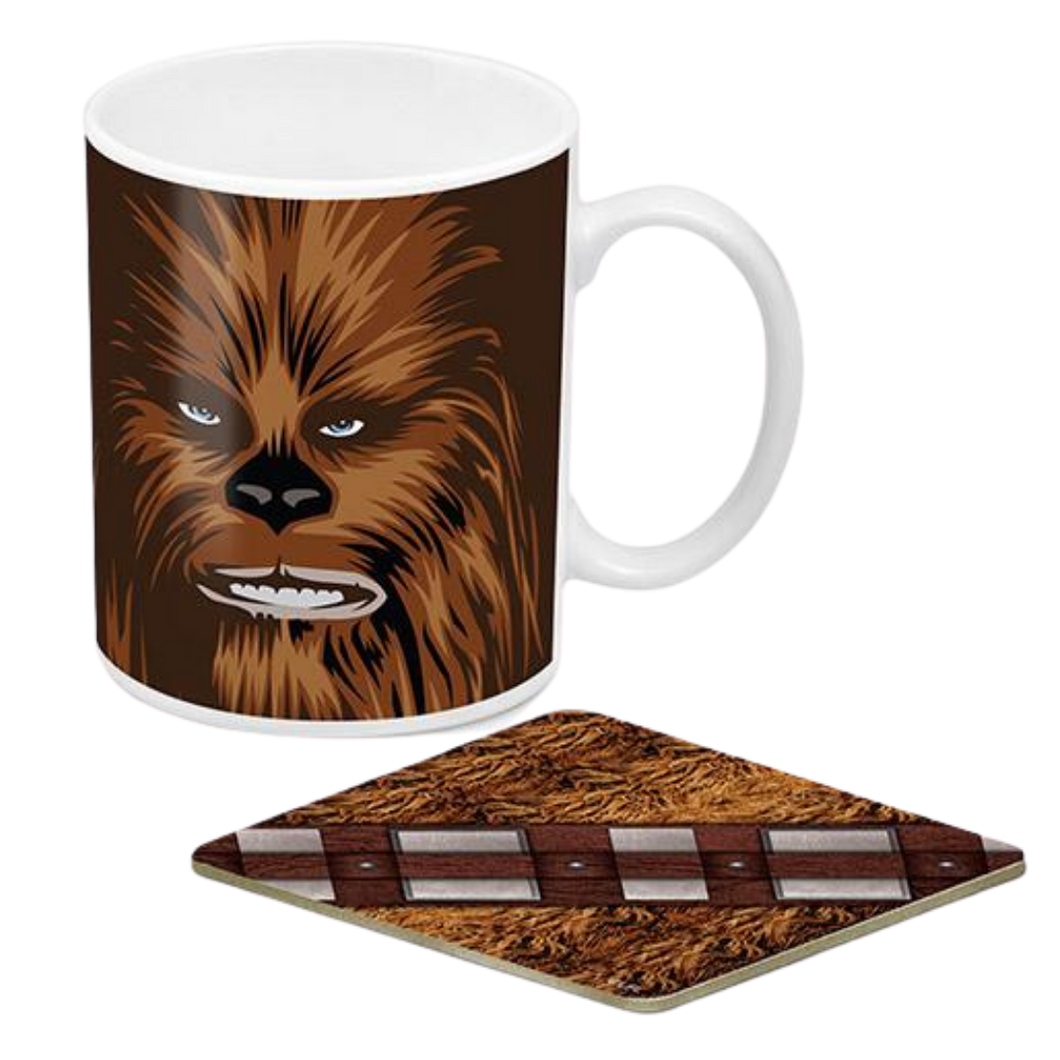 Mug & Coaster Set - Star Wars - Chewbacca Mug & Coaster