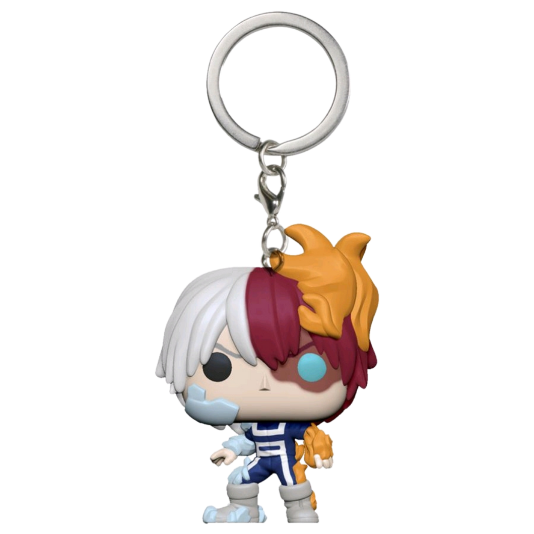 Pocket Pop! Keychain - My Hero Academia - Todoroki Metallic US Exclusive
