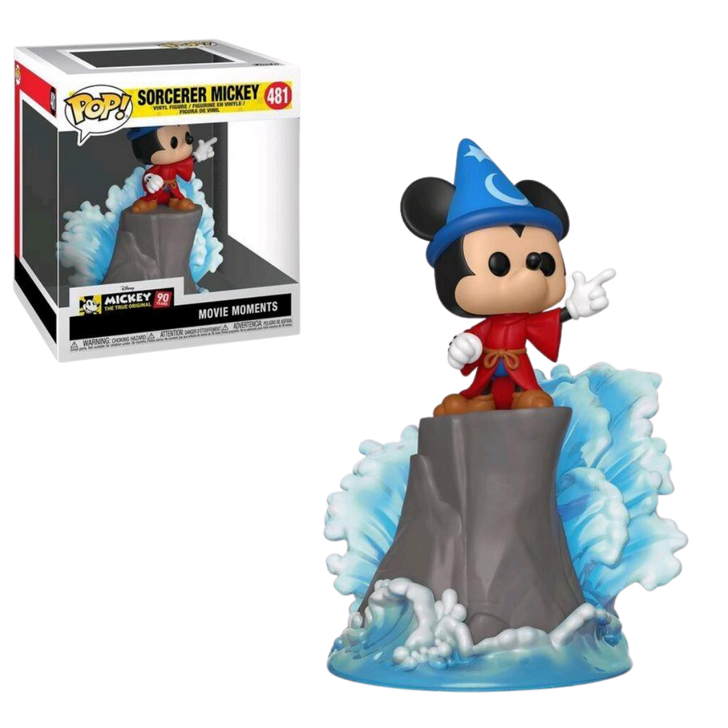 Pop Vinyl - Disney - Fantasia - Sorcerer Mickey Movie Moments US Exclusive