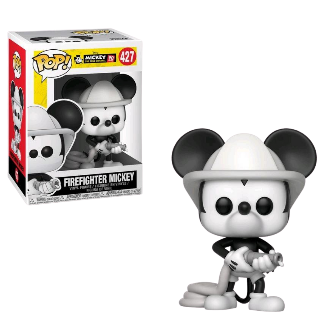 Pop Vinyl - Disney - Mickey Mouse - #427 90th Firefighter Mickey