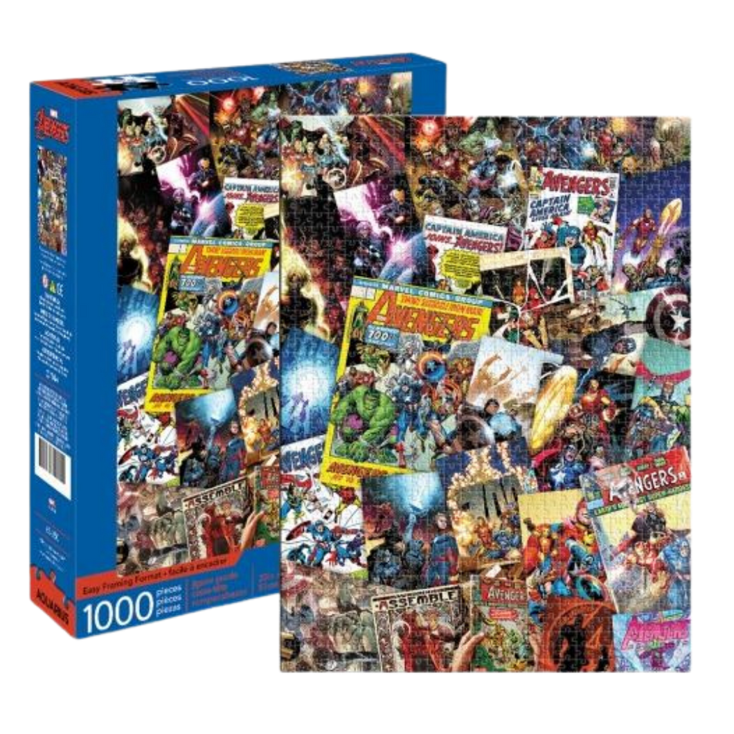 Puzzle - Marvel - Avengers Collage - 1000pc Jigsaw Puzzle