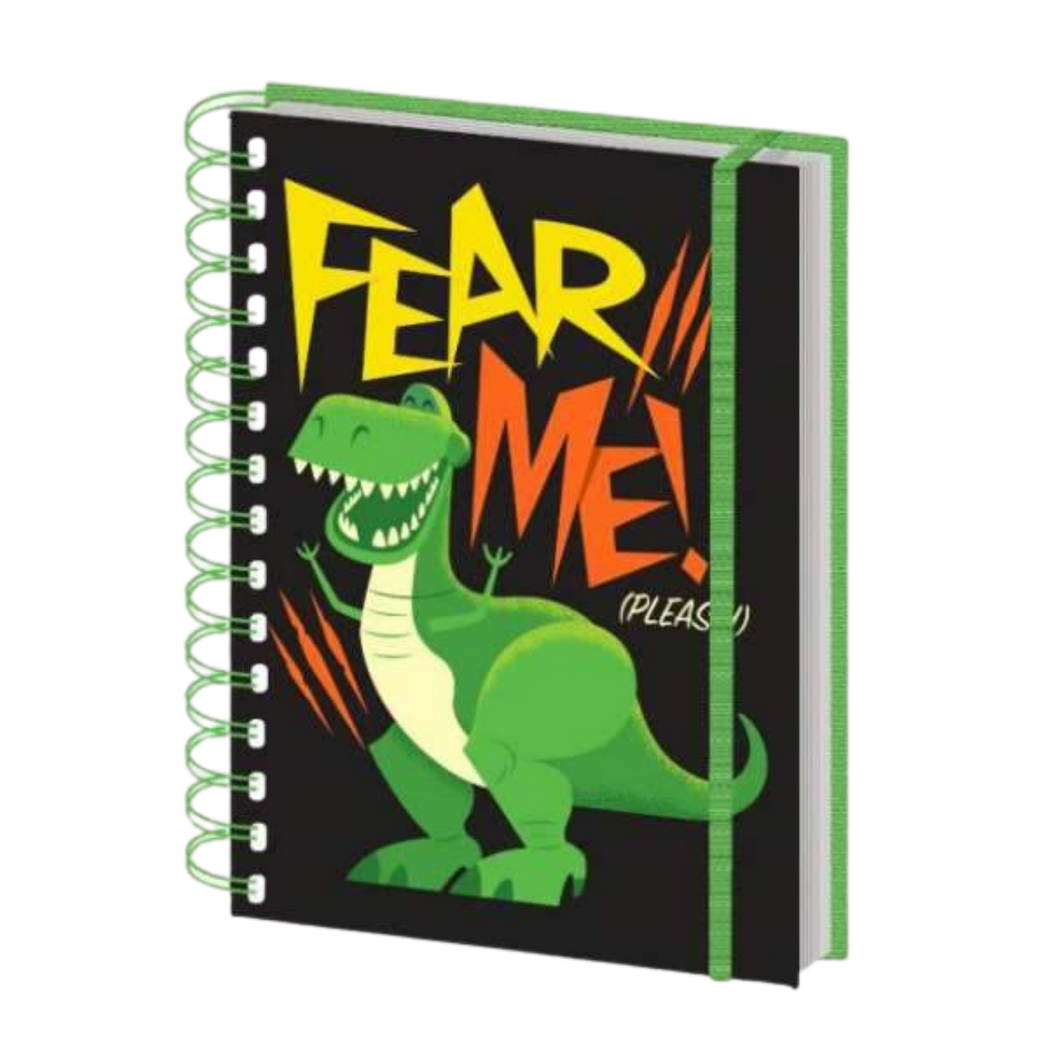 Notebook - A5 - Toy Story - Fear Me