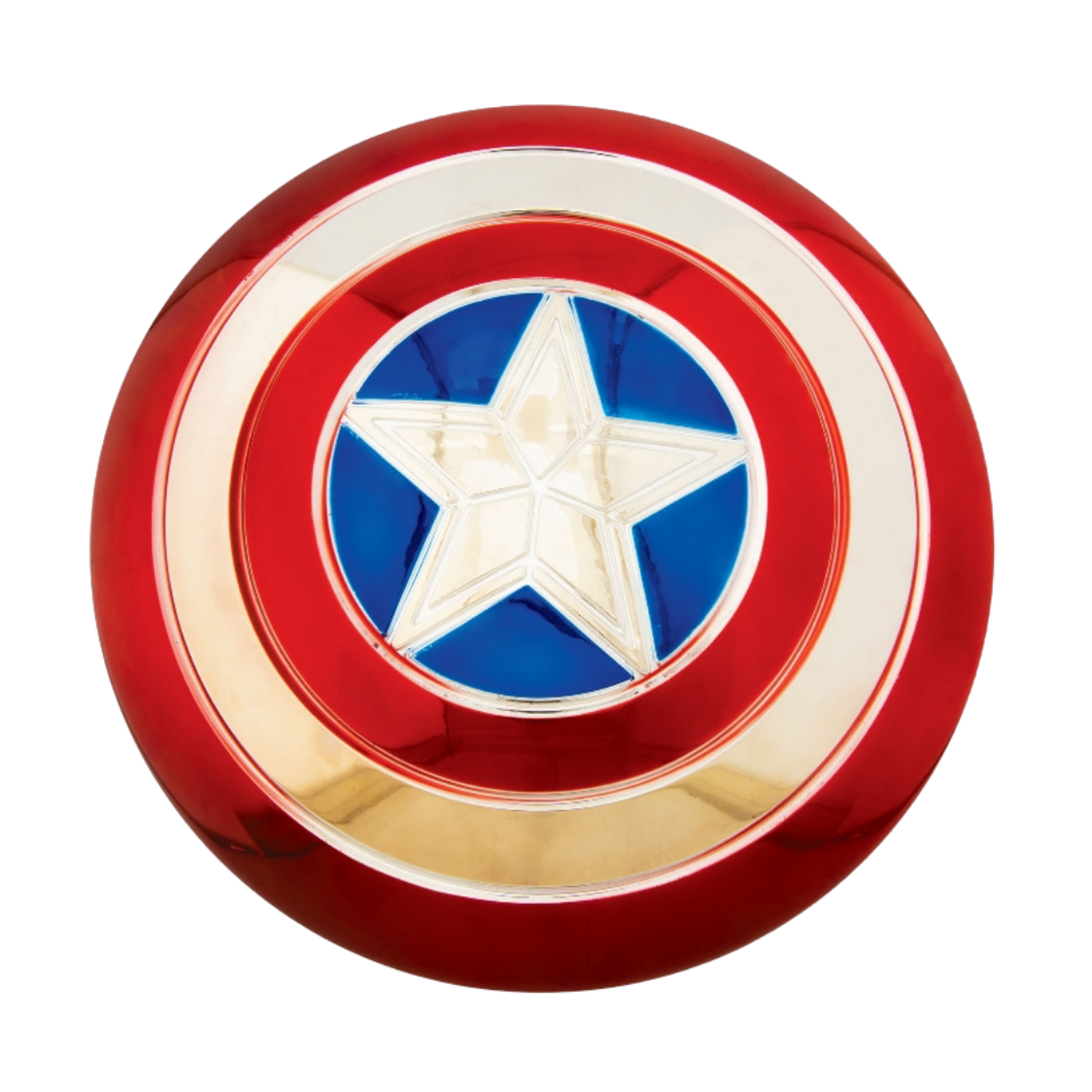 Costume Accessory - Captain America Electroplated Metallic Shield 12