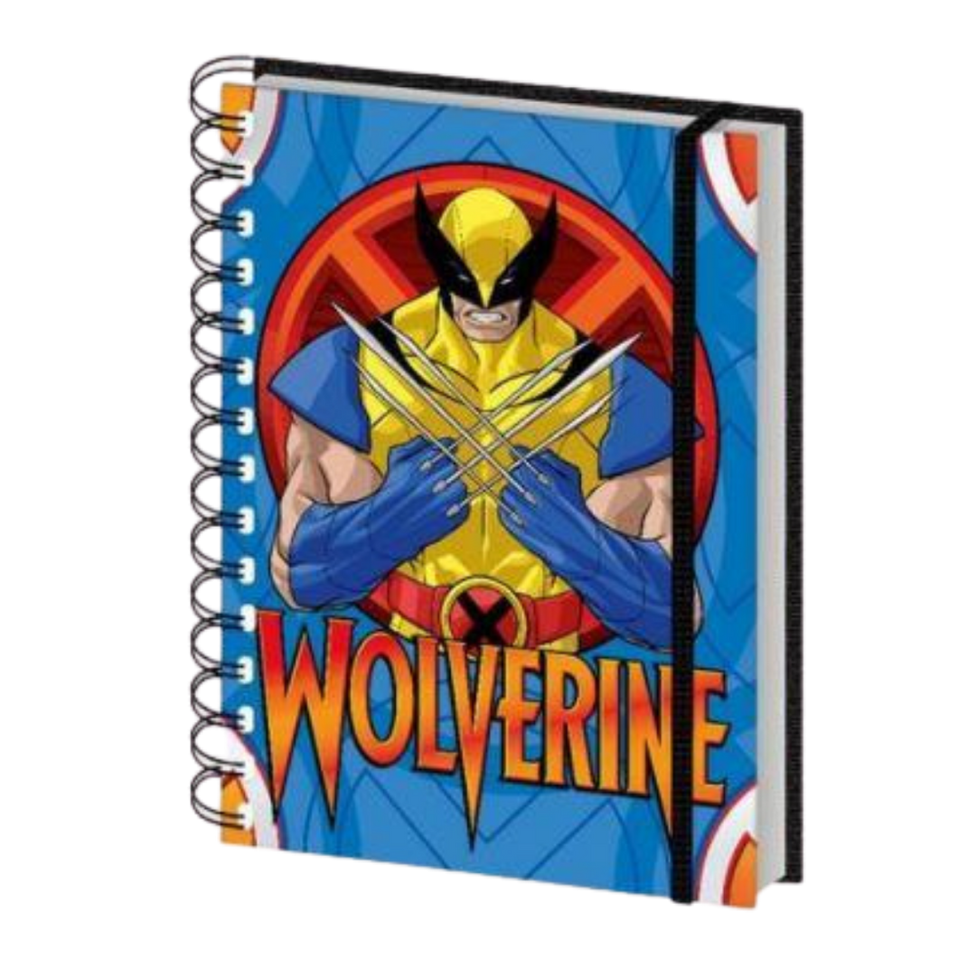 Notebook - A5 - Marvel Comics - X-Men - Wolverine