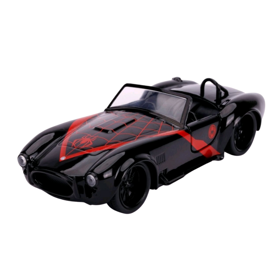 Car - Hollywood Rides - 1:32 - Spider-Man - Miles Morales 1965 Shelby Cobra