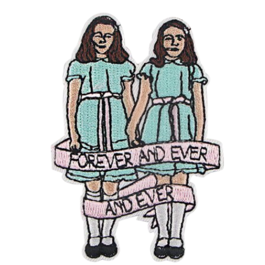 Cloth Badge/Iron-on Patch - Horror - Grady Twins