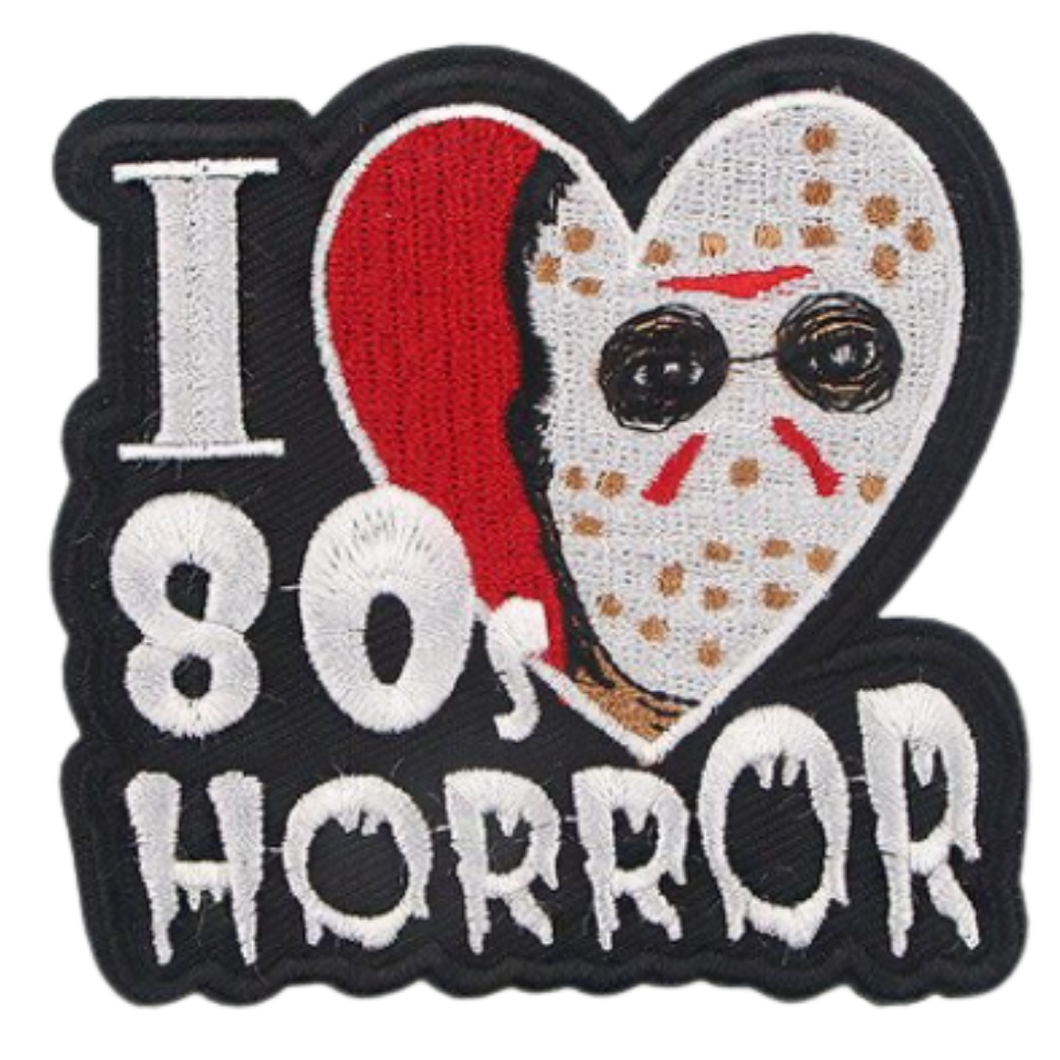 Cloth Badge/Iron-on Patch - Horror - 80's Horror