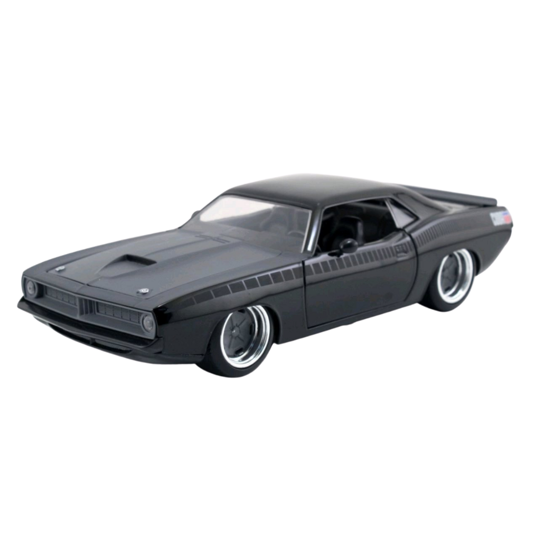 Car - Fast & Furious - 1973 Plymouth Narracuda 1:24 Scale Hollywood Ride