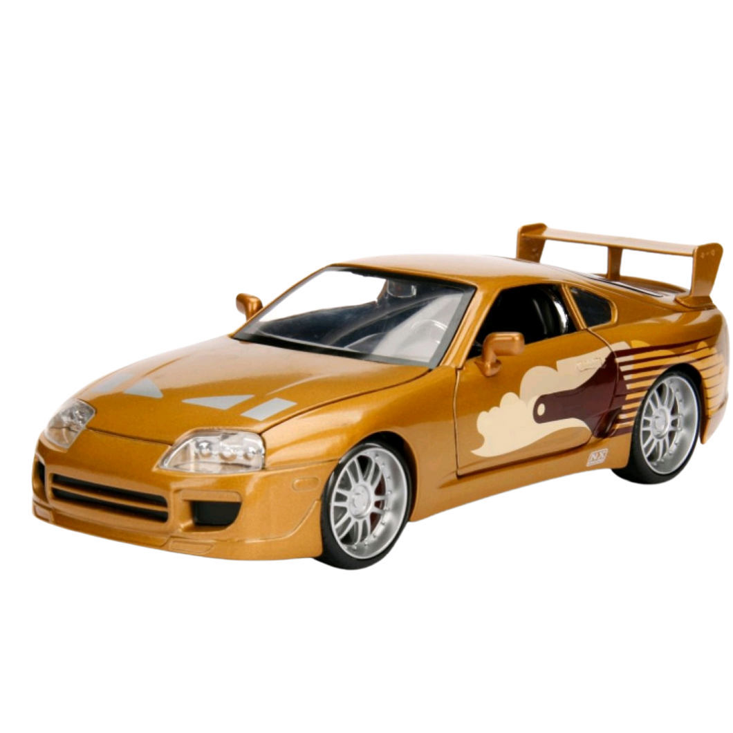 Car - Hollywood Rides 1:24 Scale Diecast Vehicle - Fast & Furious - 1995 Toyota Supra