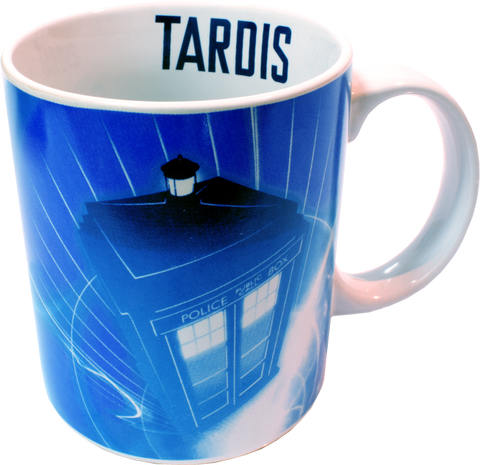 Doctor Who - TARDIS In Flight Mug