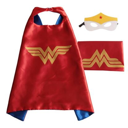 Cape & Mask Set - Small - Wonder Woman